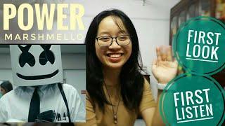 reaction: power (Marshmello) video