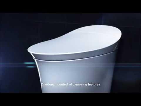 Veil® Intelligent Toilet With Bidet Seat