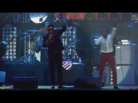"Agent Sasco & Romain Virgo LIVE Performance At Buju Banton CONCERT ""Long Walk To Freedom"
