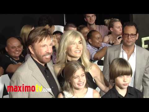 "Chuck Norris at ""The Expendables 2"" Los Angeles Premiere ARRIVALS"