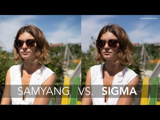 SAMYANG 35mm 1.4 vs. SIGMA 35mm 1.4