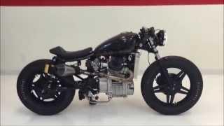 """1980 custom build Honda CX500 CAFE RACER """"Triple Espresso"""""""