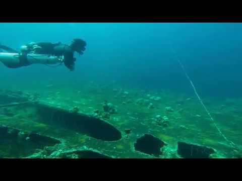 Diving the WWII wrecks of Palau:  Teshio Maru