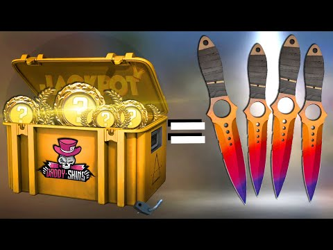 I Spend $5000 On Csgo Skin Cases And Get These KNIFES..