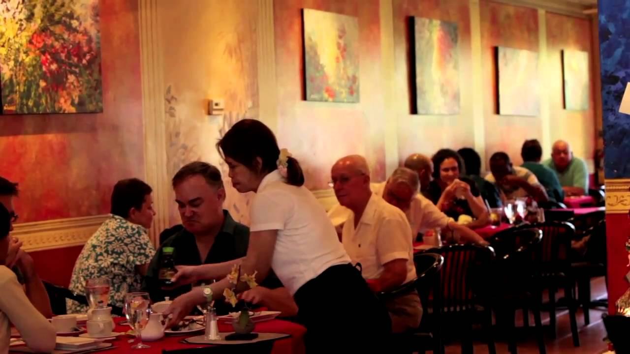 Thai Orchid Restaurant Video Cayman Youtube