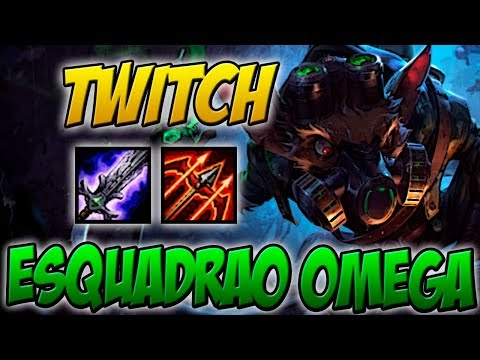 55.000 DE DANO - TWITCH ESQUADRÃO OMEGA GAMEPLAY - LEAGUE OF