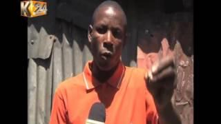 Police & protesters clash at Mukuru kwa Njenga slums in South B, Nairobi