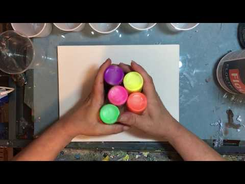 Acrylic Paint Pouring for the Beginner