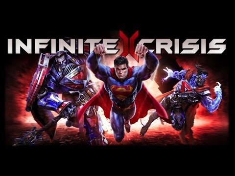 Обзор игры Infinite Crisis. Кому интересны МОБА игры, тем советую посмотреть !