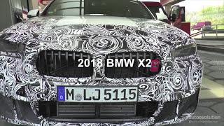 2018 BMW X2 Spied Testing On The Nurburgring