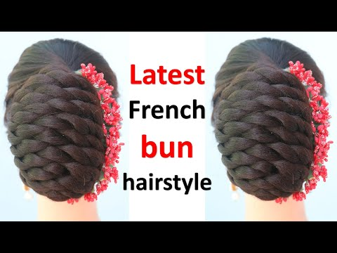 latest-french-bun-hairstyle-|-hair-style-girl-|-ladies-hair-style-|-hairstyle-for-girls-|-hairstyle