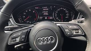 Audi A4 2018 Additional Options Review