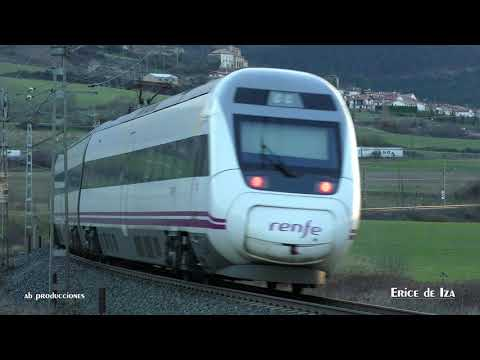 TRAINSPOTTING VOL 1341 Tránsito de trenes renfe U 4K