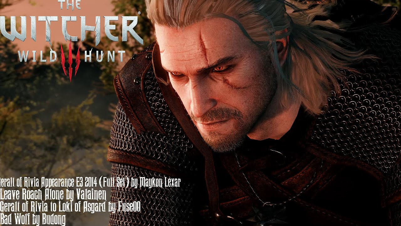 The Witcher 3 Mods #9: Geralt of Rivia Appearance E3 2014 by It'sAGundam