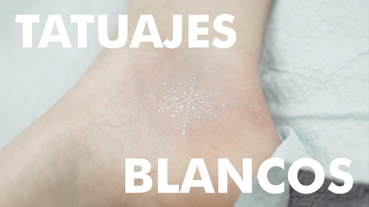 Pequenos Tatuajes Blancos Youtube