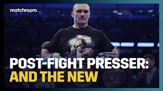 Post-Fight Press Conference: Oleksandr Usyk (After Anthony Joshua win)