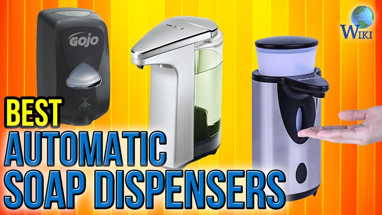 10 Best Automatic Soap Dispensers 2017