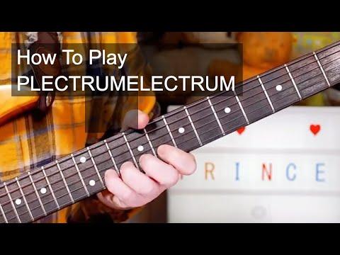 'PLECTRUMELECTRUM' Prince Guitar & Bass Lesson