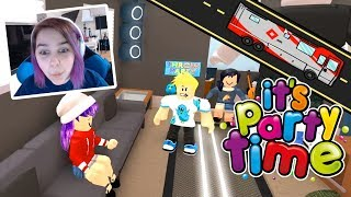 Road Trip with Gamer Chad on the Roblox Party Bus!