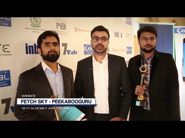 Fetch Sky at P@SHA ICT Awards 2017