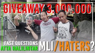 Atta Halilintar Vs Agus Cita #2 Give Away 3.000.000