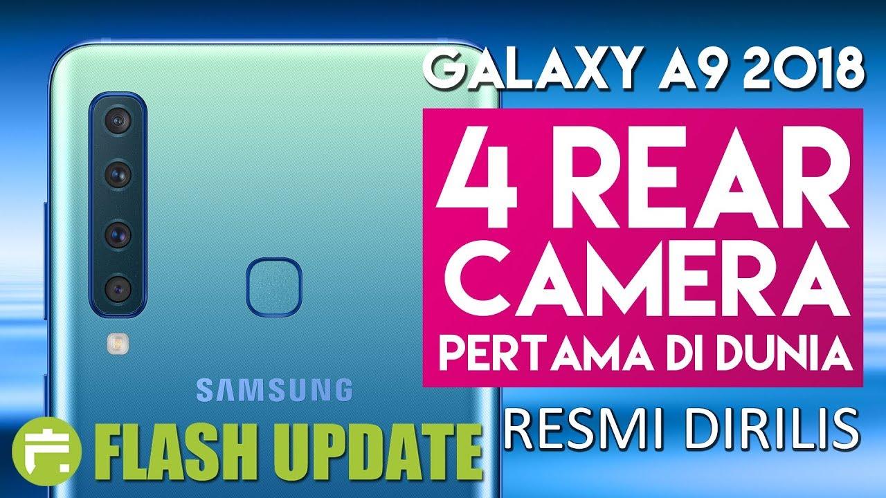 Samsung Galaxy A9 2018 Indonesia 4 Kamera Belakang Harga