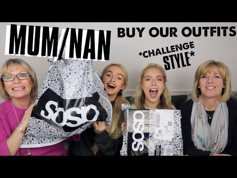 MUM & NAN DO OUR ASOS CHALLENGE FOR US! Ad | SYD AND ELL