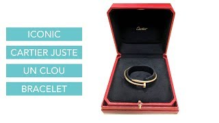cdd04b7210979 Cartier juste un clou wear and tear and regrets