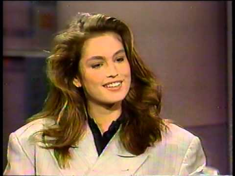 CINDY CRAWFORD - 23 - INTERVIEW - 1989