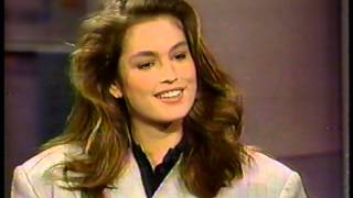 CINDY CRAWFORD 23 INTERVIEW 1989