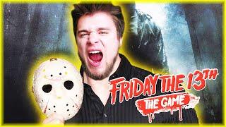 NAJBARDZIEJ GAŁGAŃSKA GRA JASONEM | Friday the 13th: The Game [#17] | BLADII