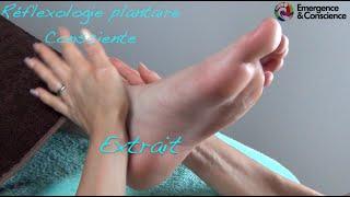 Vidéo technique relaxation - Réflexologie Plantaire Conscience