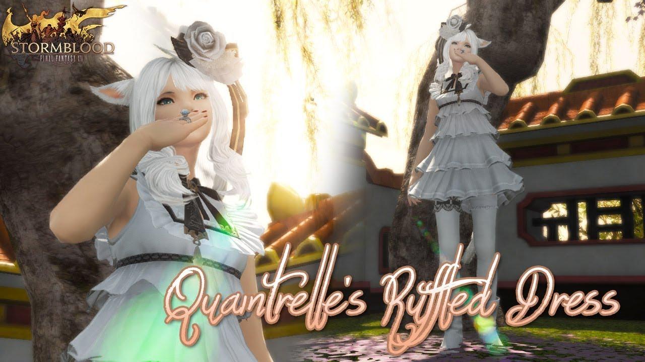 Ffxiv Quaintrelle S Ruffled Dress Youtube [ 720 x 1280 Pixel ]