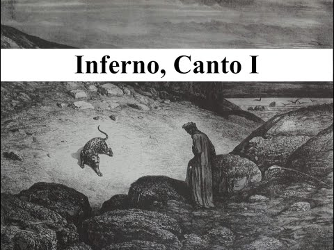 The Divine Comedy in 2 minutes - Inferno, Canto I
