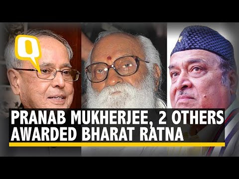 Live: Bharat Ratna Awards 2019 | Pranab Mukherjee & Others Honoured With The Title