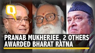 Live: Bharat Ratna Awards 2019 | Pranab Mukherjee & Others Honoured With the Title