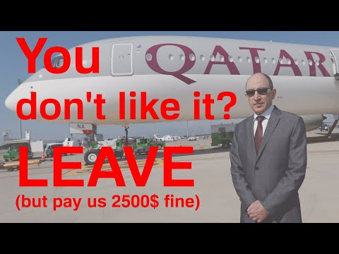 TRUTH about Qatar airways, CEO's and Vice president's rules. Training process and restrictions.