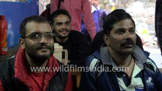 India Vs Pakistan Cricket match - people react by smashing television set!