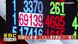 台股17日重挫收跌473點 失守半年線 @57東森財經新聞