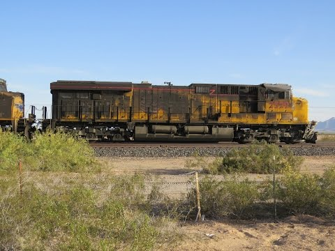 Thumbnail: Union Pacific Train crashes into US Marines Tanker Truck - Aftermath in Dateland, AZ