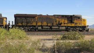 Union Pacific Train crashes into US Marines Tanker Truck - Aftermath in Dateland, AZ