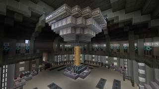 Minecraft 12th doctor tardis interior Tour!