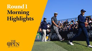 Could this be Spieth's year again? | Round One Morning Highlights from The 149th Open