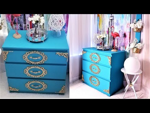 DIY OLD FURNITURE TRANSFORMATION| ROOM DECORATING IDEAS 2019