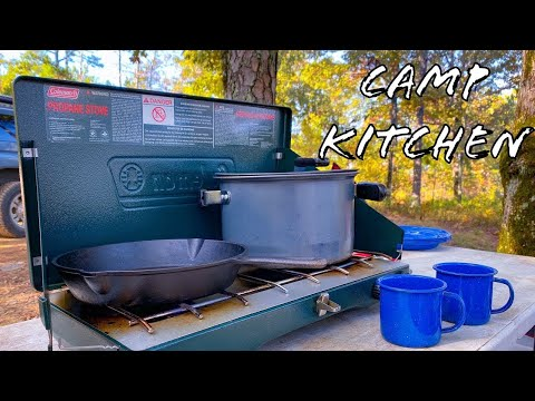 A Tour Of My Camp Kitchen