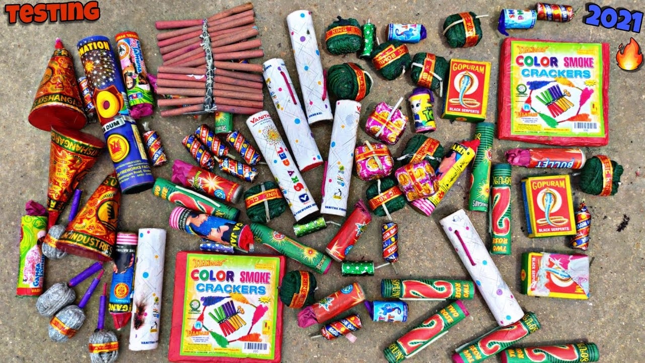 Crackers Testing 2021 | Different Types Of Firecrackers Testing 2021 | Crackers Video