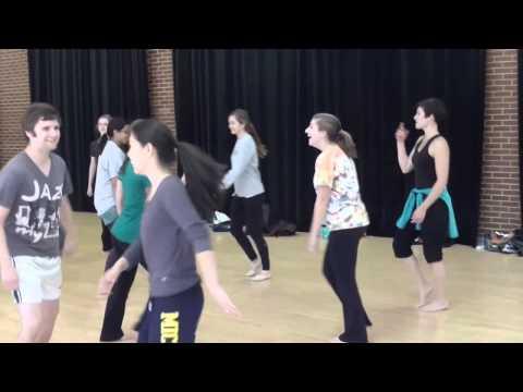 Modern Dance Class 9/17/2014