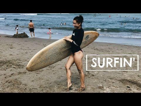 SURFING + SINGAPORE TRIP | #teamBachdim VLOG