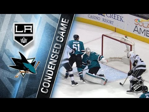 Los Angeles Kings vs San Jose Sharks - Dec.23, 2017 | Game Highlights | NHL 2017/18. Обзор матча