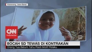2 hari Tidak Pulang, Bocah SD Ditemukan Tewas di Kontrakan